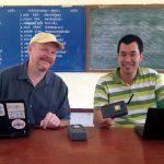 Steve Song จาก NSRC & Village Telco เข้าเยี่ยมชม Tak Net